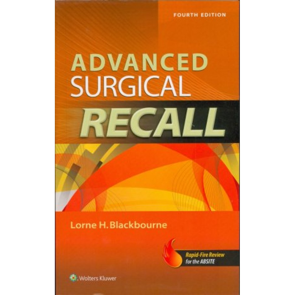 Advanced Surgical Recall, 4th Edition