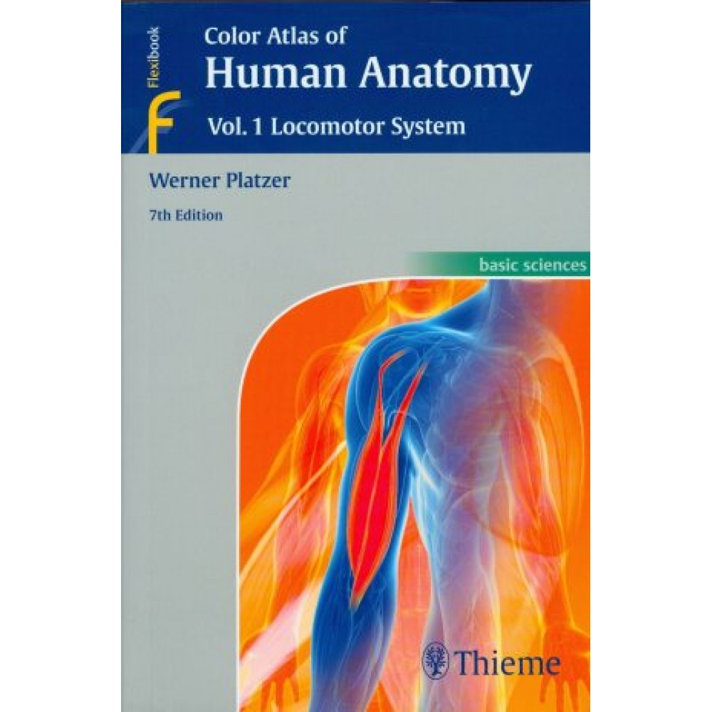 Color Atlas of Human Anatomy Vol.1, 7th Edition