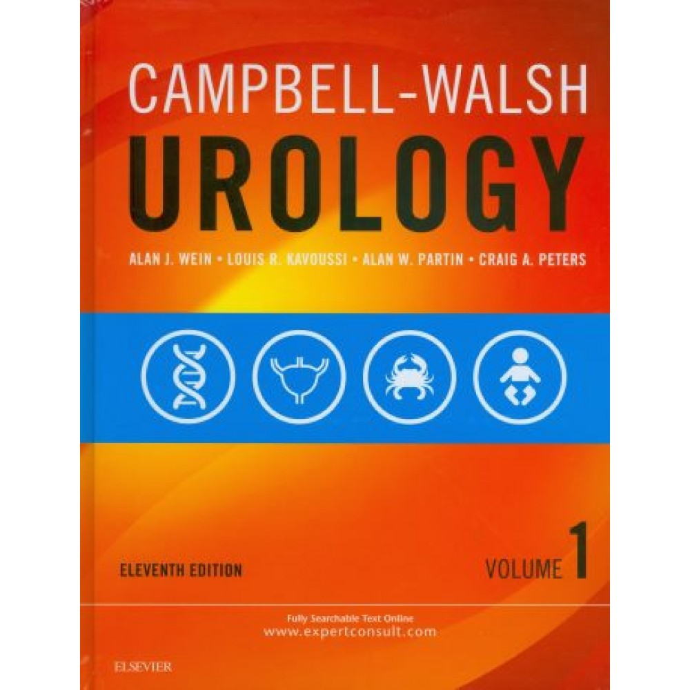 Campbell-Walsh Urology, 11th Edition