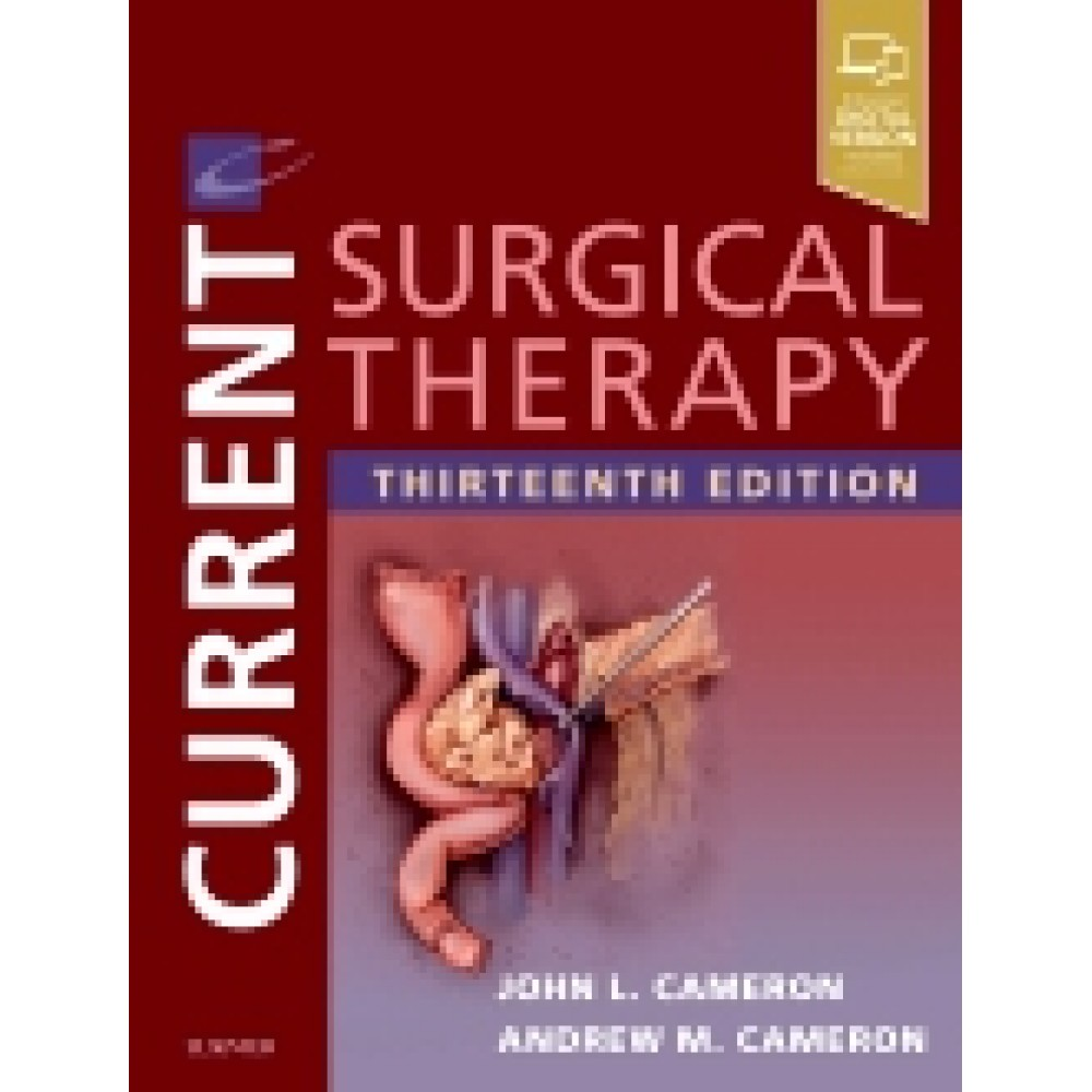 Current Surgical Therapy, 13th Edition